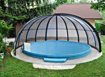 купить павильон для круглого бассейна
