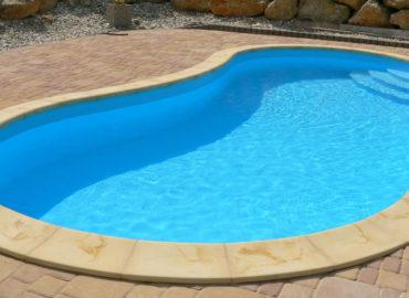 бордюрный камень отделка бассейна