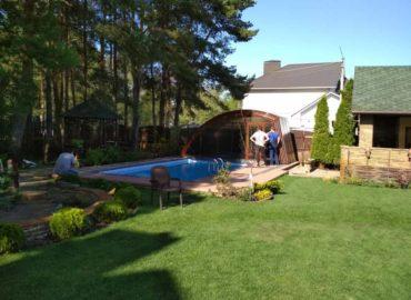 строим павильоны для бассейна
