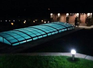 низкие павильоны освещение