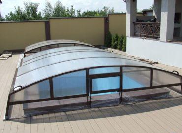 низкие павильоны для бассейна