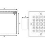 Слив донный квадратный СД.50.2 (пленка)
