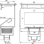 Скиммер СК20.1 (плитка)