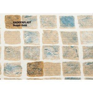 Пленка ПВХ 1,65х25,00м «Haogenplast», Snapir Gold, бежевая мозайка