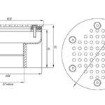 Плато аэромассажное круглое д.120 ПА.12.2, пленка