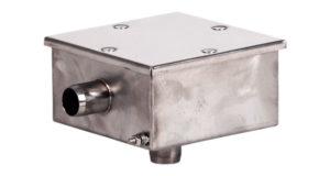 Короб распаячный нержавеющая сталь РК01.0