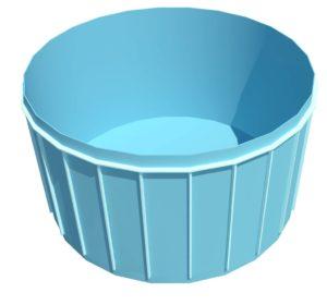 Чаша Бассейна Из Полипропилена круглая 2,0м x 1,5м