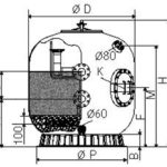 Фильтр К1400ТД (61м3 ч)