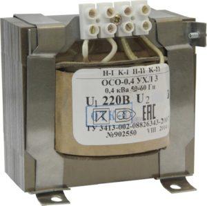 Трансформатор ОСО-0.25 ,250 Вт