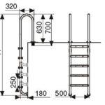 Лестница М204 (4 ступени)