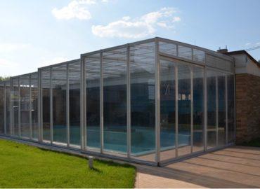 пристенные павильоны для бассейна