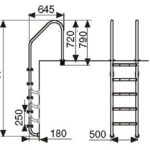 Лестница L203 (3 ступени)