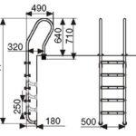 Лестница F205 (5 ступеней)