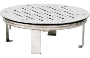 Плато аэромассажное круглое д.480 ПА.48.3, плитка