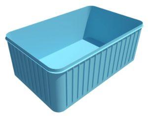 Чаша Бассейна Из Полипропилена прямоугольная 6м х 2.5м х 1.5м