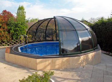круглые павильоны для бассейна