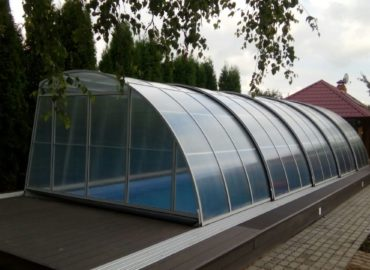 проектирование бассейнов с навесом