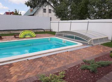 строительство бассейнов павильонов фото