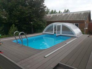 бассейн под ключ полипропиленовый  фото